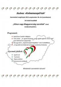 Itthon vagy! Magyarország szeretlek!